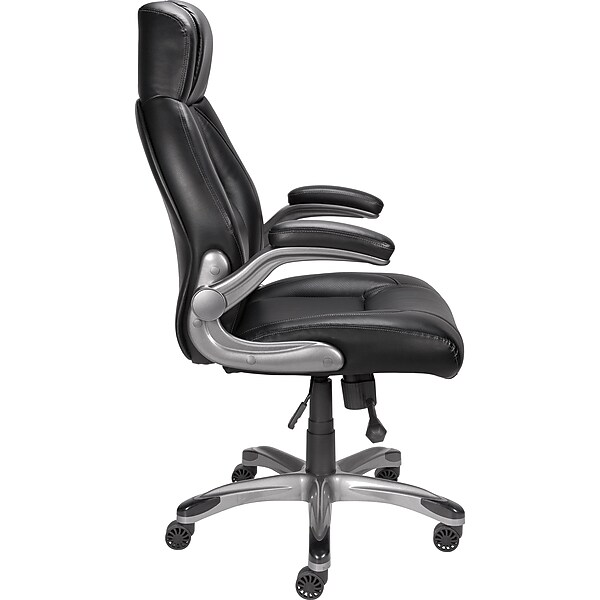 Staples Torrent Bonded Leather Managers Chair Black Staples