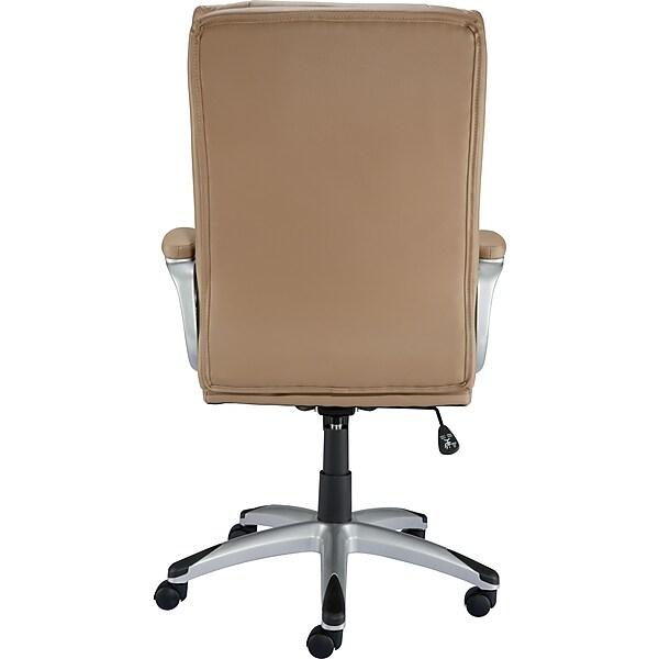 Staples Burlston Luxura Managers Chair Camel Staples